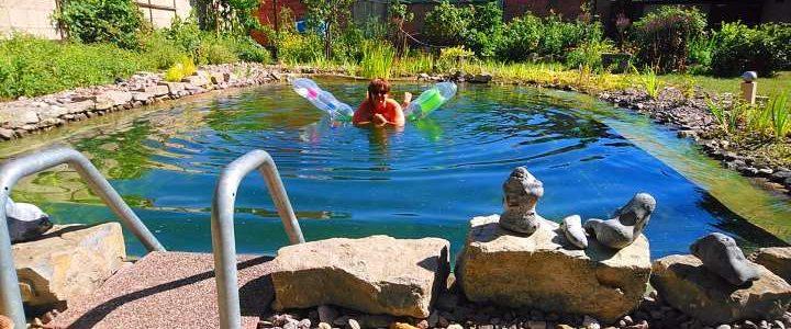 Sommerküche – Noch Platz für einen Schwimmteich?